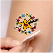 Temporary Tattoo: Healthy Choices Shine Bright THUMBNAIL