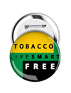 Round Button: Live Smart Tobacco Free THUMBNAIL