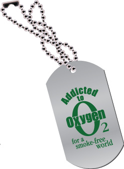 Dog Tag: Addicted to Oxygen MAIN