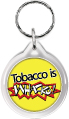 Zipper Tag: Tobacco is Whacko THUMBNAIL