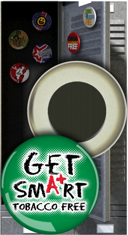 Button Magnet: Get Smart Tobacco Free MAIN