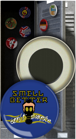 Button Magnet: Smell Better Don't Smoke MAIN