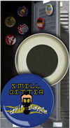 Button Magnet: Smell Better Don't Smoke THUMBNAIL