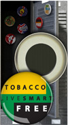 Button Magnet: Live Smart Tobacco Free THUMBNAIL