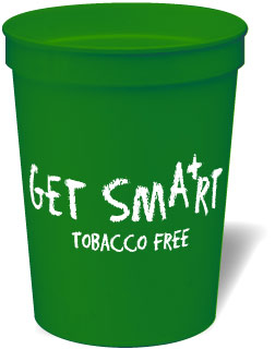 Stadium Cup: Get Smart Tobacco Free MAIN