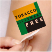 Temporary Tattoo: Live Smart Tobacco Free THUMBNAIL