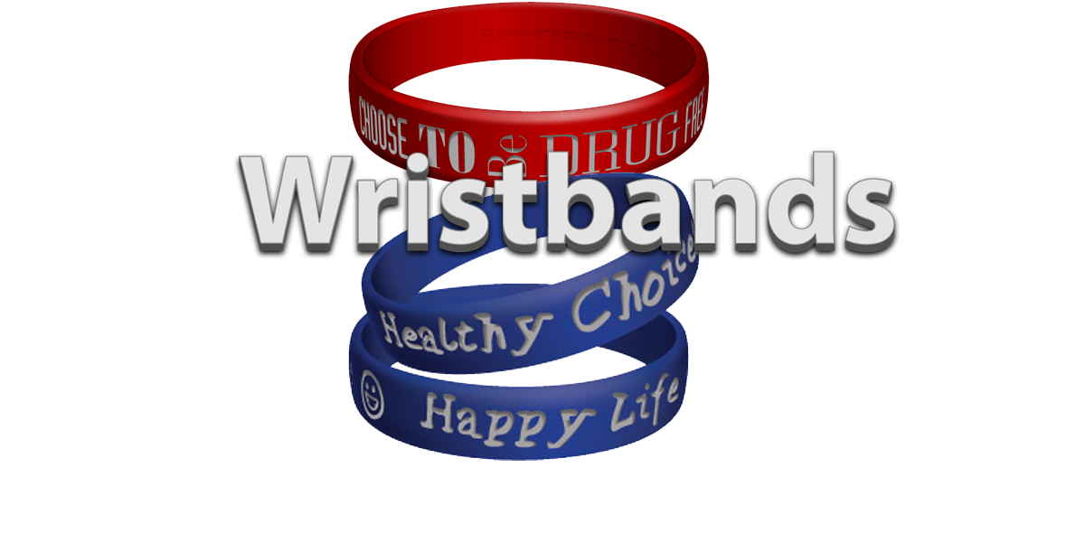 Silicone Awareness Wristbands