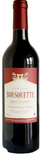 "Chateau Bousquette Saint Chinian  ""Tradition"" 2011 THUMBNAIL"