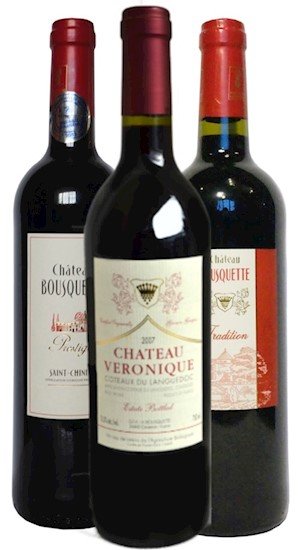 French Red 3 Pack LARGE