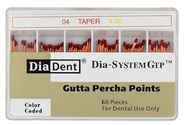 Dia-System GTP .04 Gutta Percha Points THUMBNAIL