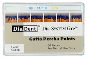 Dia-System GTP .08 Gutta Percha Points MAIN