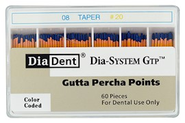 Dia-System GTP .08 Gutta Percha Points THUMBNAIL