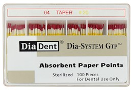 Dia-System GTP .04 Paper Points THUMBNAIL
