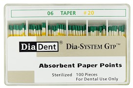 Dia-System GTP .06 Paper Points THUMBNAIL