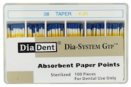 Dia-System GTP .08 Paper Points THUMBNAIL