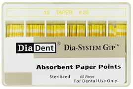 Dia-System GTP .10 Paper Points THUMBNAIL
