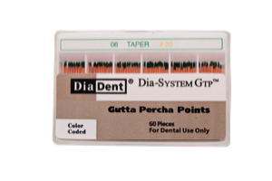 Dia-System GTP .06 Gutta Percha Points