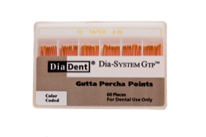 Dia-System GTP .10 Gutta Percha Points