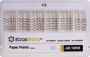 EdgeEndo .06 Paper Points™ MAIN