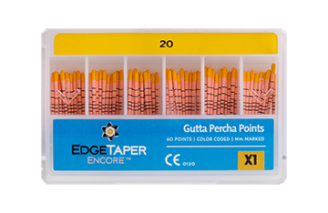 EdgeTaper Encore™ Gutta Percha Points™