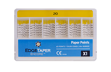 Slim Fit EdgeTaper Encore™ Paper Points MAIN