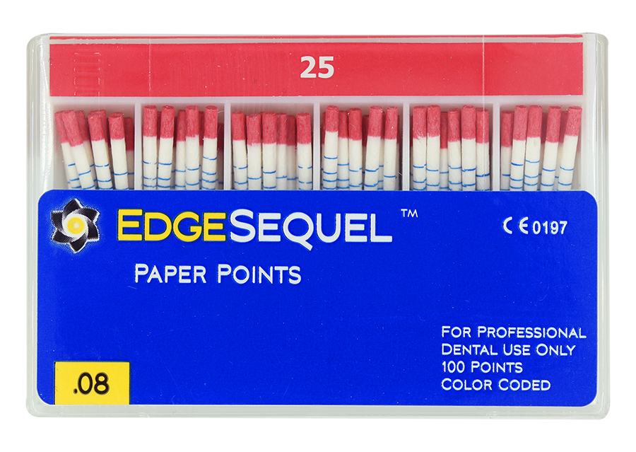 EdgeSequel™ .08 Paper Points™ MAIN