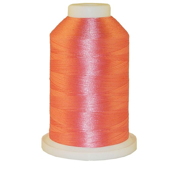 Medium Rose # 1004 Iris Trilobal Polyester Machine Embroidery & Quilting Thread - 5500 Yds