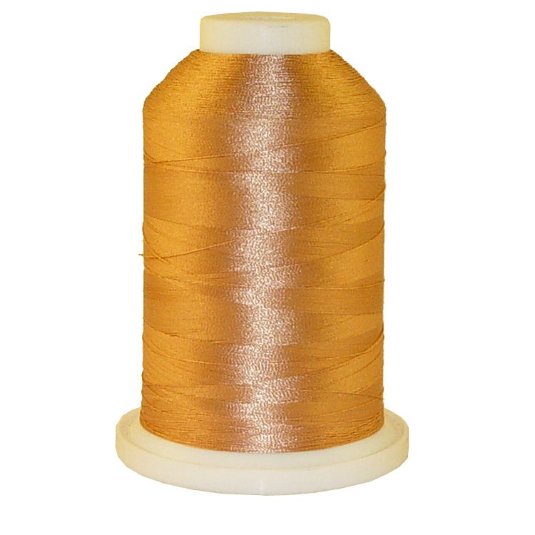 Soft Tan # 1005 Iris Trilobal Polyester Machine Embroidery & Quilting Thread - 5500 Yds
