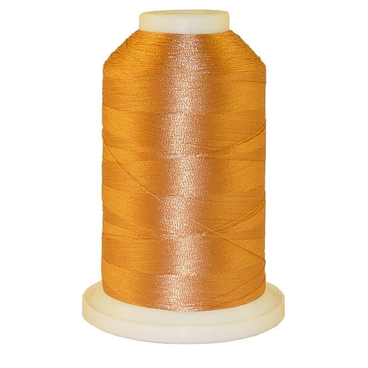 Light Wicker # 1007 Iris Trilobal Polyester Machine Embroidery & Quilting Thread - 5500 Yds