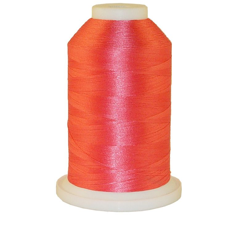 Pink Jubalee # 1008 Iris Trilobal Polyester Machine Embroidery & Quilting Thread - 5500 Yds