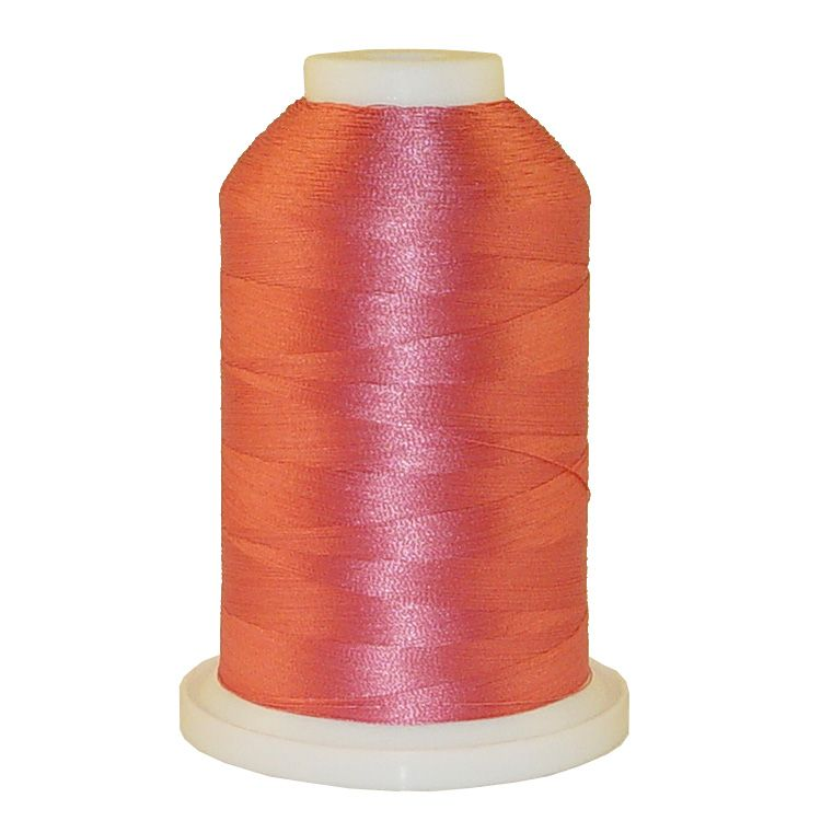 Pastel Salmon # 1009 Iris Trilobal Polyester Machine Embroidery & Quilting Thread - 5500 Yds