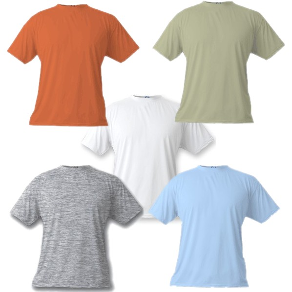 Vapor Apparel Basic Short Sleeve T-Shirts - Sublimation Blanks