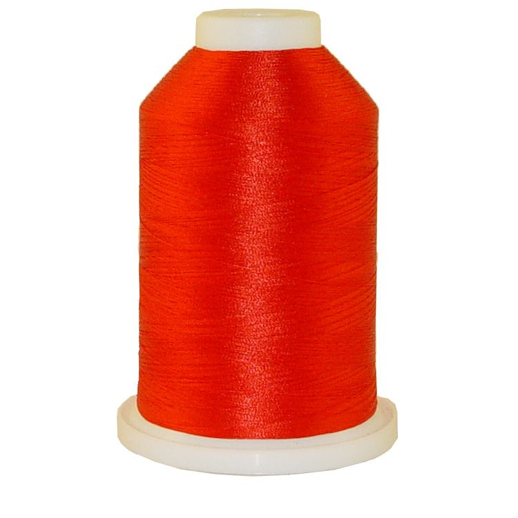 Flame Red # 1016 Iris Trilobal Polyester Machine Embroidery & Quilting Thread - 5500 Yds MAIN