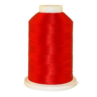 Foxy Red # 1018 Iris Polyester Embroidery Thread - 1100 Yds