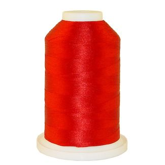 Jockey Red # 1019 Iris Polyester Embroidery Thread - 1100 Yds