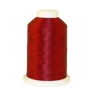 Burgandy # 1021 Iris Polyester Embroidery Thread - 1100 Yds