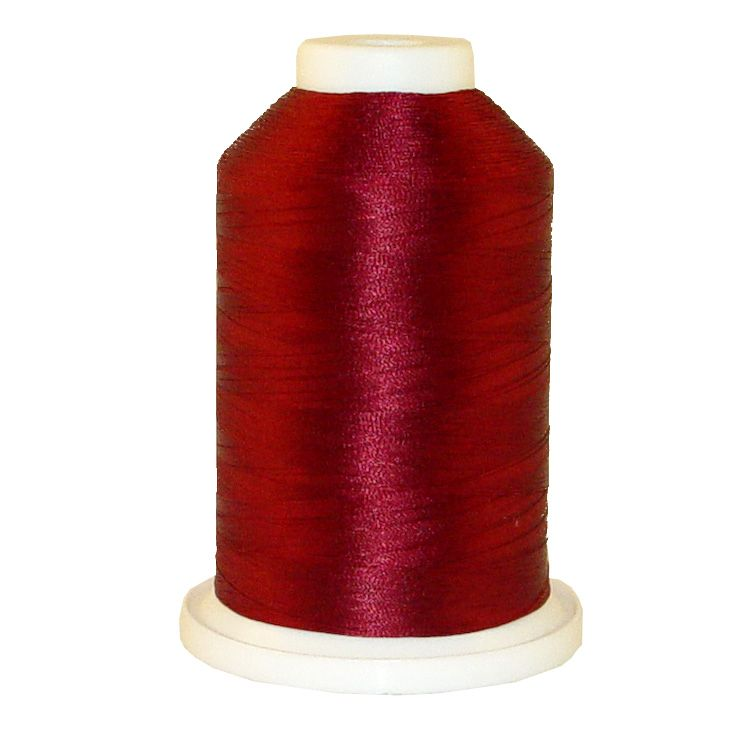 Wine # 1022 Iris Trilobal Polyester Machine Embroidery & Quilting Thread - 5500 Yds
