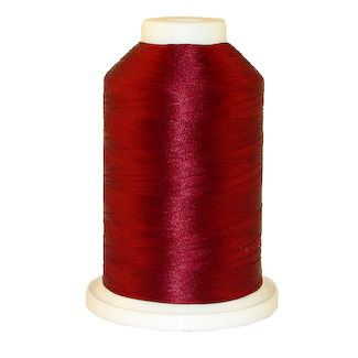 Wine # 1022 Iris Polyester Embroidery Thread - 1100 Yds