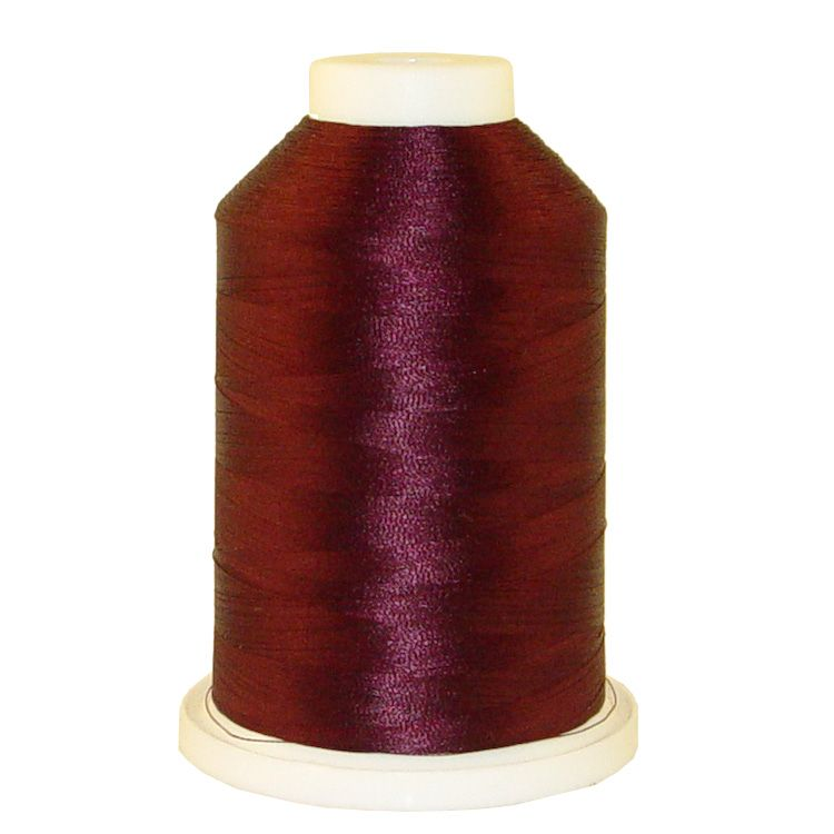 Plum # 1024 Iris Trilobal Polyester Machine Embroidery & Quilting Thread - 5500 Yds