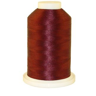 Maroon # 1025 Iris Polyester Embroidery Thread - 1100 Yds