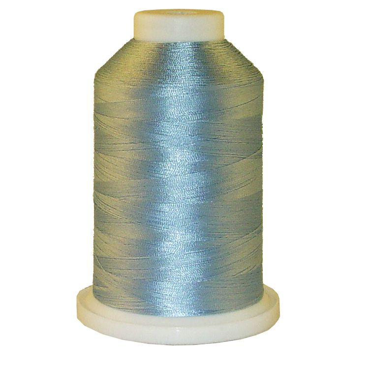 Baby Blue 1 # 1026 Iris Trilobal Polyester Machine Embroidery & Quilting Thread - 5500 Yds