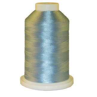 Baby Blue 1 # 1026 Iris Polyester Embroidery Thread - 1100 Yds