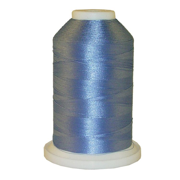 Paris Blue # 1028 Iris Trilobal Polyester Machine Embroidery & Quilting Thread - 5500 Yds