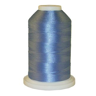 Paris Blue # 1028 Iris Polyester Embroidery Thread - 1100 Yds