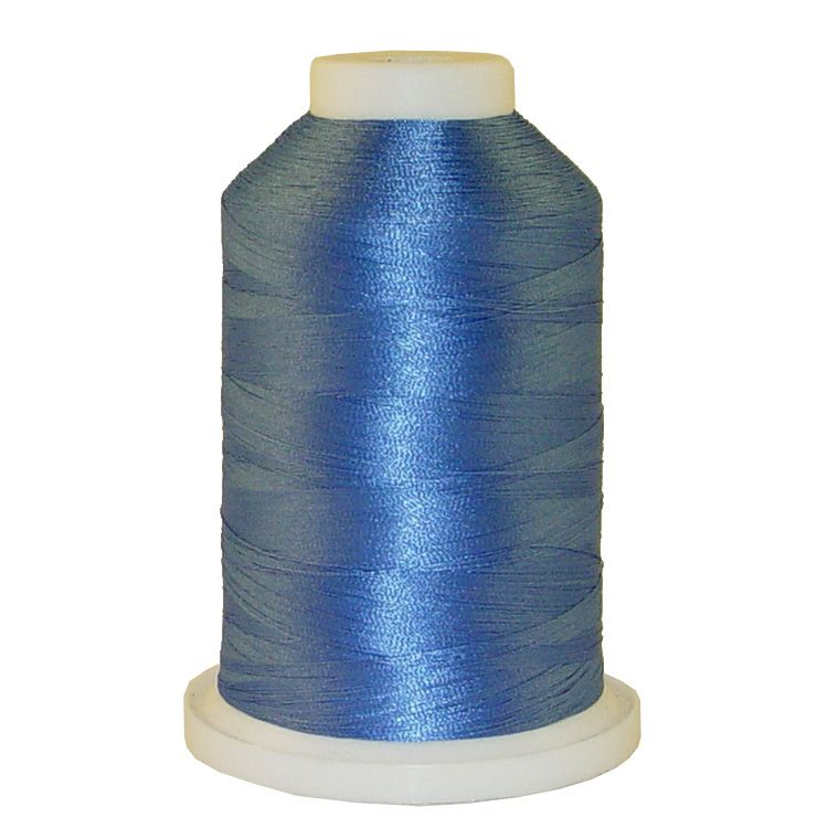 Asian Blue # 1032 Iris Trilobal Polyester Machine Embroidery & Quilting Thread - 5500 Yds