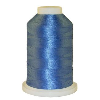 Asian Blue # 1032 Iris Polyester Embroidery Thread - 1100 Yds