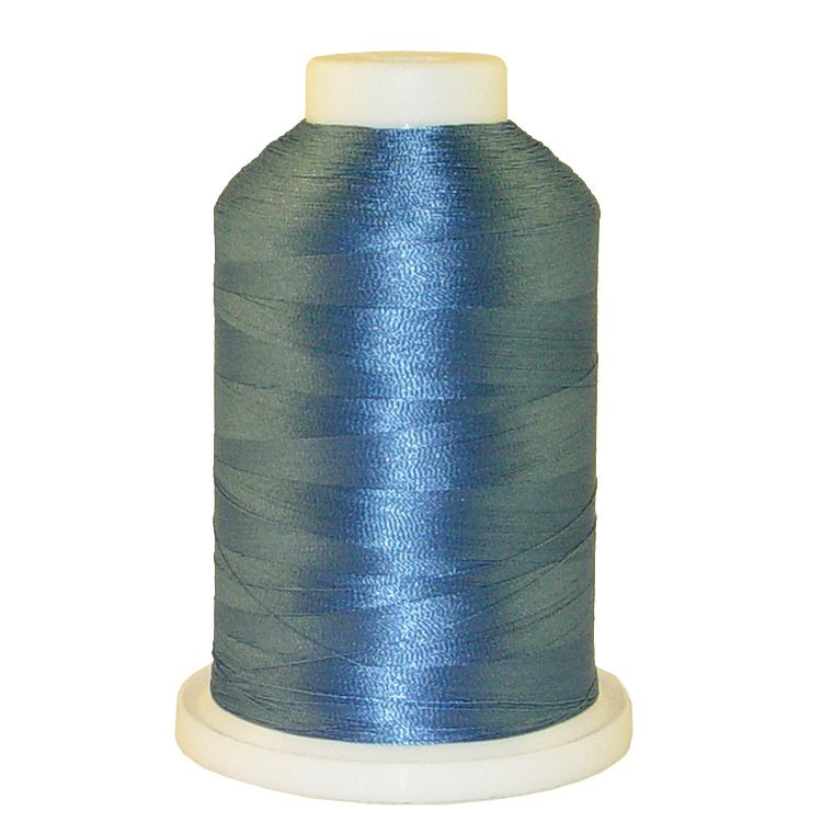 Slate Blue # 1033 Iris Trilobal Polyester Machine Embroidery & Quilting Thread - 5500 Yds