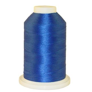 Flipper Blue # 1036 Iris Polyester Embroidery Thread - 1100 Yds