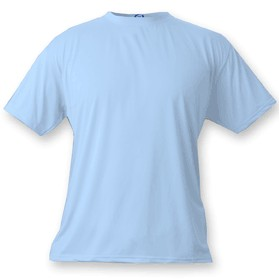 Blizzard Blue Vapor Apparel Short Sleeve T-Shirt - Large