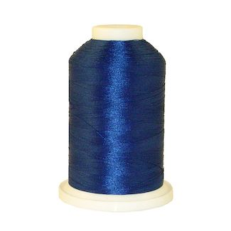 Imperial Blue # 1042 Iris Polyester Embroidery Thread - 1100 Yds